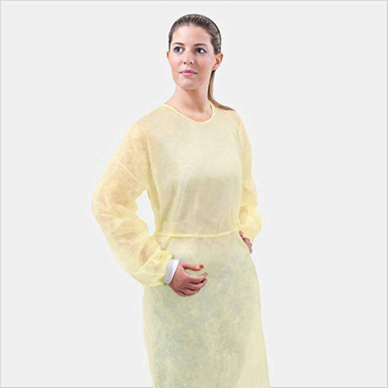 PP PE Isolation Disposable Gown Protective Sterile Gown