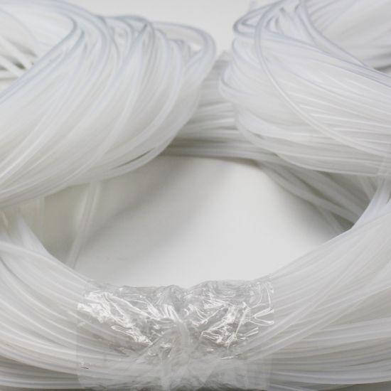 Soft Flexible Custom Size Transparent Silicone Rubber Tube/Hose Spot Sale