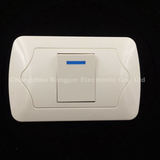 10A 250V ABS Copper Material 2way/3way Wall Switch (EU-001-1)