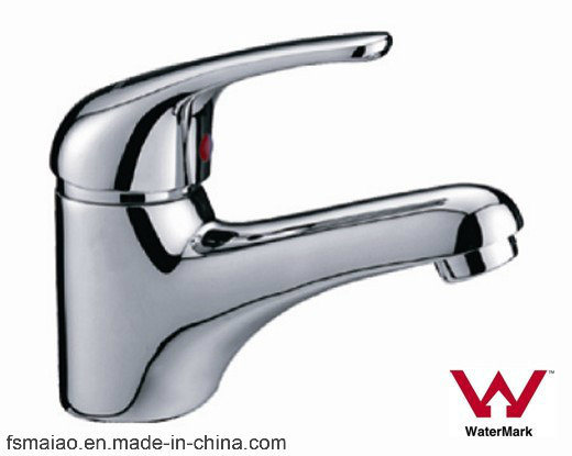 Australia Standard Watermark and Wels Approval Bathroom Brass Single Lever Basin Faucet (HD3501)