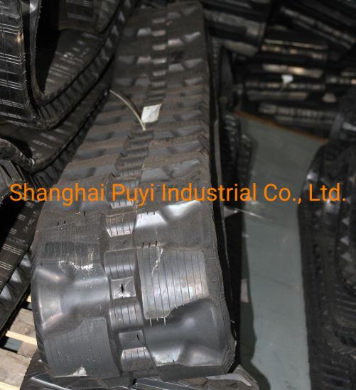 China Rubber Tracks 320*86*52 with C-Lug for Kubota Svl75 2