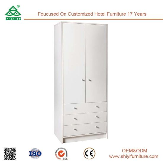 Best Quality MDF Wooden Cloth 2 Doors Wardrobes Closet pictures & photos