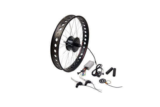 26*4.0 Fat Tire Ebike Kit Electric Bafang 8fun Motor Bicycle Wheel Conversion Kit pictures & photos