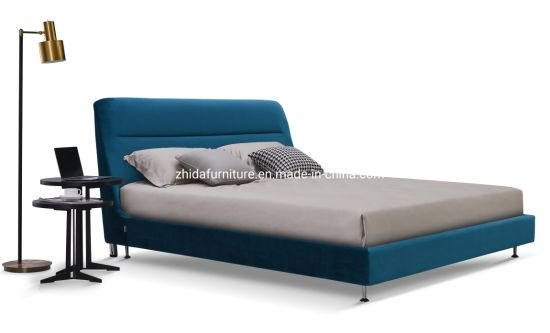 Home Furniture Bedroom Set Fabric Hotel Bed