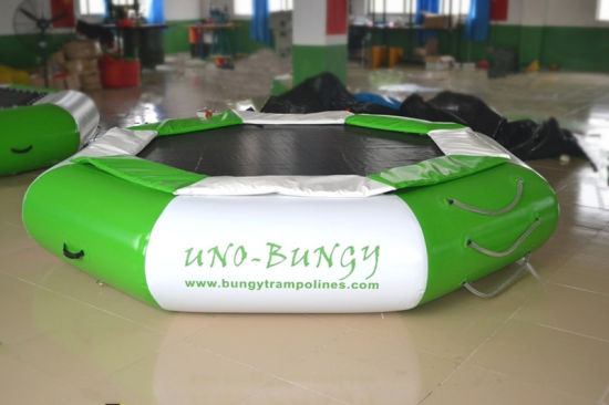 Green Octagon Sharp Inflatable Water Trampoline on Sale pictures & photos