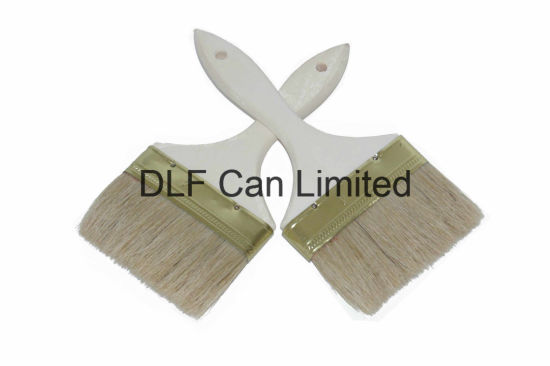 Wood Handle Bristle Brush for Painting pictures & photos
