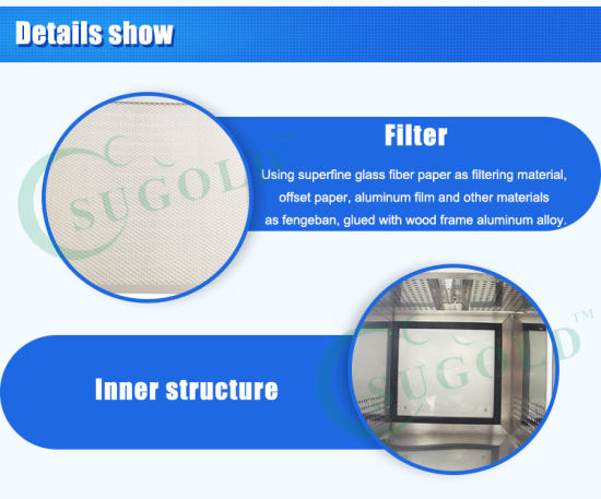 Sugold Static Type Clean Transfer Window/ Pass Box pictures & photos