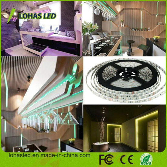 Waterproof 5m 12V SMD5050 RGB LED Strip Light Kit pictures & photos