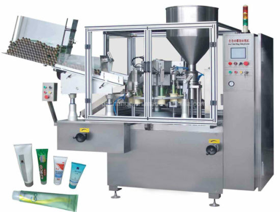 Fully Automatic Tube Filling and Sealing Machine pictures & photos