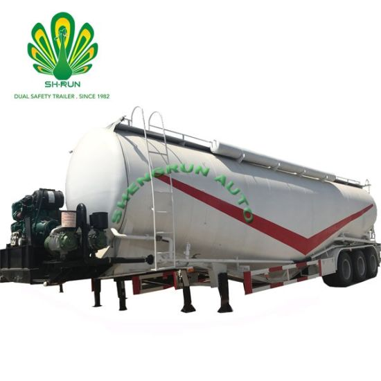 W Type Cement Tank with 3 Axles