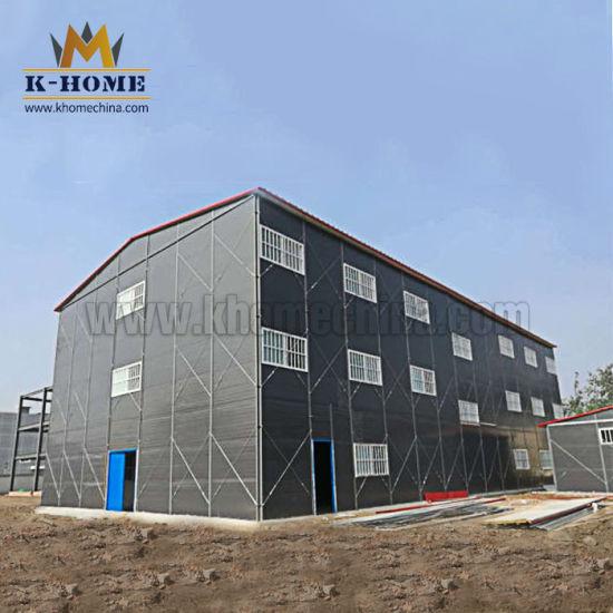 Temporary Building Prefab Labor Camp Modular Sandwich Panel House