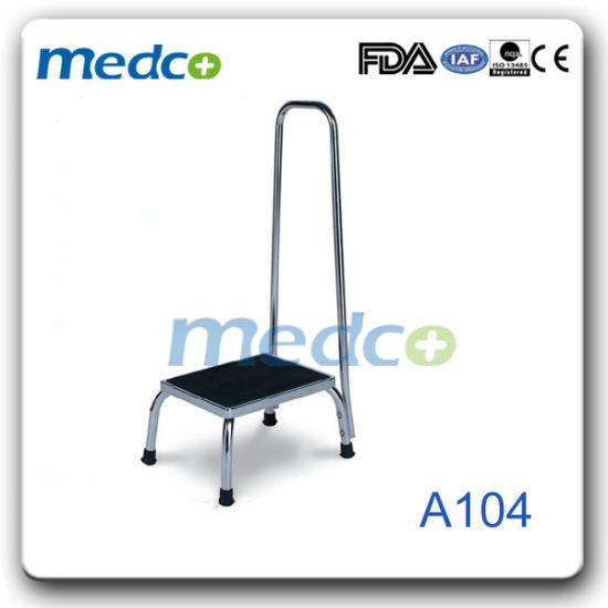 Amazing Stainless Steel Hospital Single Foot Stool Medical Single Step Stool Evergreenethics Interior Chair Design Evergreenethicsorg