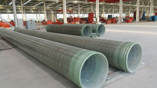 China Continuous Filament Winding FRP Pipe and Fittings