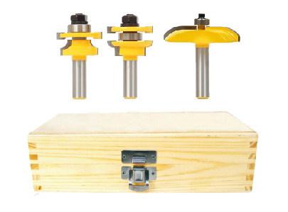 3PCS Cabinet Door Set - Cove - Woodworking Router Bits