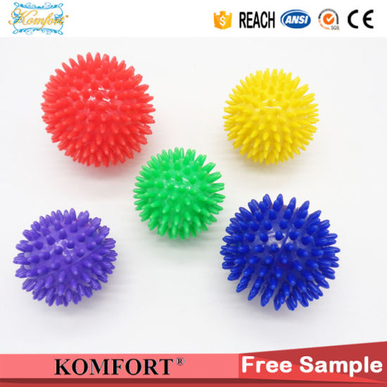 Promotion PVC Mini Hand Spikys Massage Ball CE (JMC-420B) pictures & photos