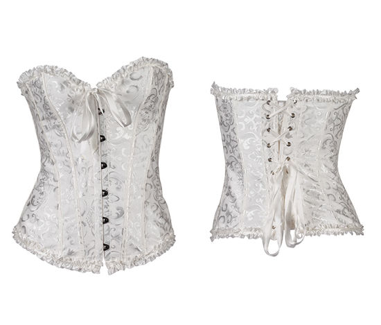 3c6f7c0679 Lover-Beauty 12 Steel Bones Latex Sexy Women Lace Corset Lingerie and  Bustiers