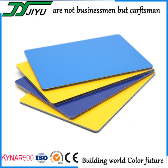 Outdoor Wall Decoration ACP Sheet Construction Material