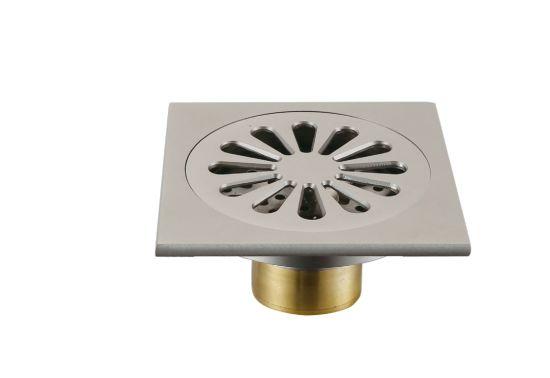 China Bathroom Brass Floor Drain & Kitchen Floor Drain - China Brass ...