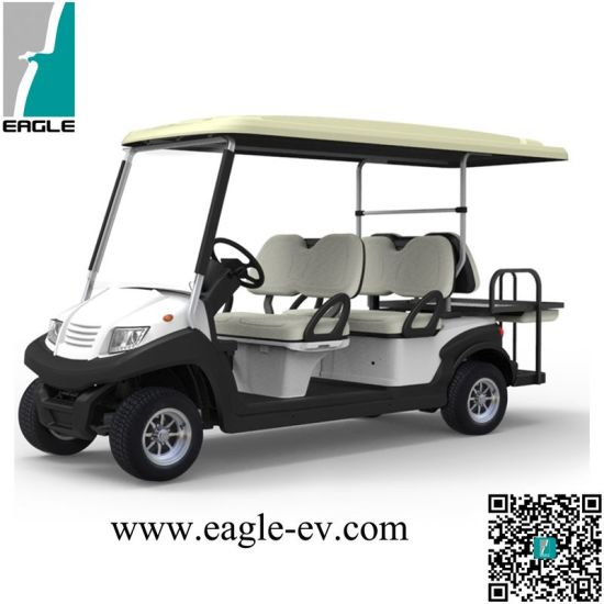 China 6 Seat Electric Golf Cart, Pure Electric, Aluminum Chassis ...