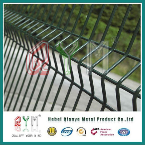 China PVC Coated Welded Wire Mesh Fence Panels/ Garden Fence Panel ...