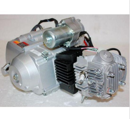 China Motorcycle Engine 110cc 1+1 Fully Auto + Reverse Motor