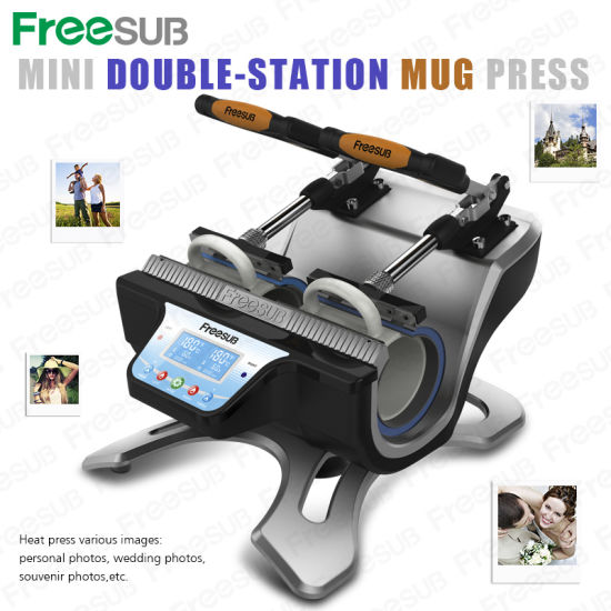 2015 Double-Station Sunmeta Directly Mug Heat Press Machine (ST-210) pictures & photos