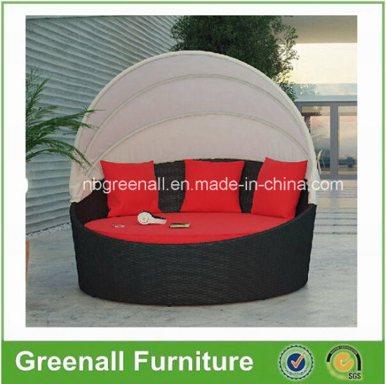 Rattan Outdoor Day Beds with Canopy pictures & photos
