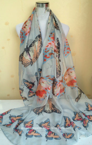 High Quality Fashion Lady Printing Scarf pictures & photos