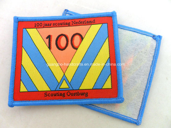 New School Good Quality Woven Patches Cloth Patch pictures & photos