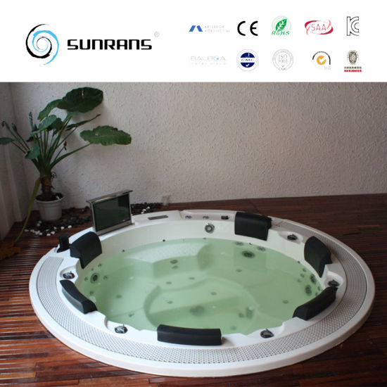 Outdoor Inflatable Round Acrylic Hot Tub pictures & photos