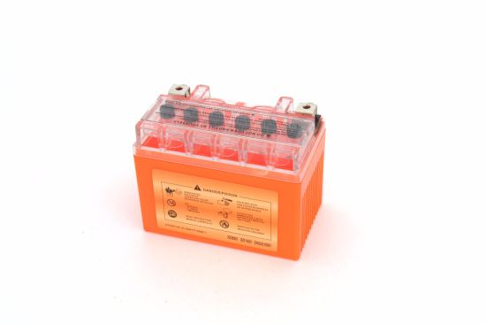 12V4ah 12V 4ah Ytx4l-BS Outdo Full Gel Mf Maintenance Free Factory Activated Power Sports Starter High Performance Rechargeable Lead Acid Motorcycle Battery