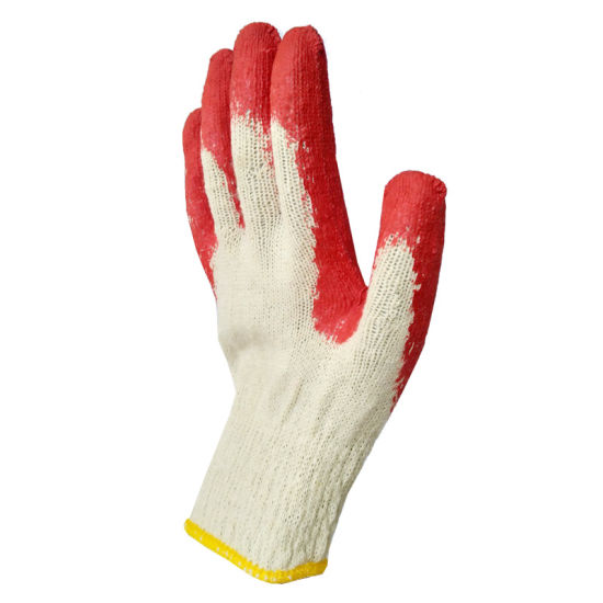 Latex Coated Conton Work Gloves
