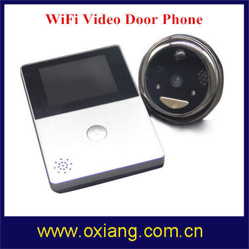 HD 720p WiFi Video Doorbell Phone Remote Network Night Vision