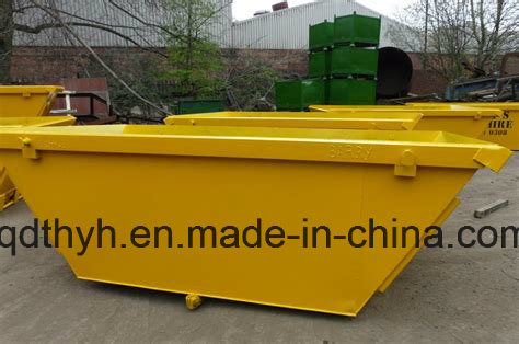 High Quality Crane Self Dumping Bin, Construction Waste Container with Many Color Coating