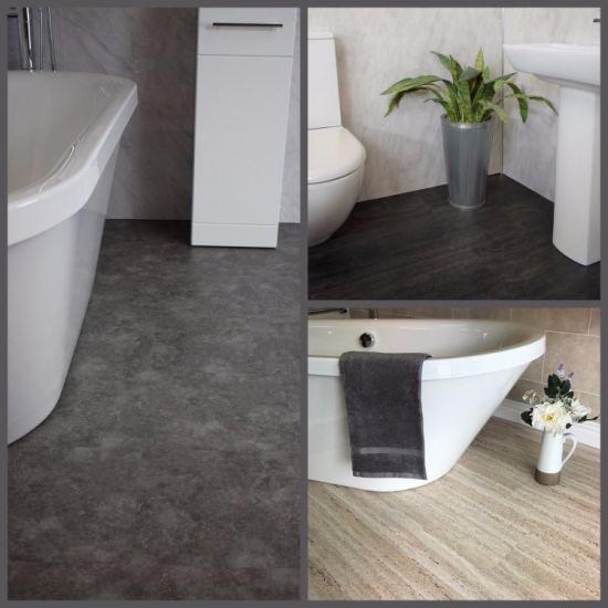 China 4 0mm Light Grey Oak Lvt Flooring