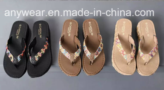 77d829b31fa0 China New Design Ladies Slipper Womens Flip Flops Shoes (549 ...