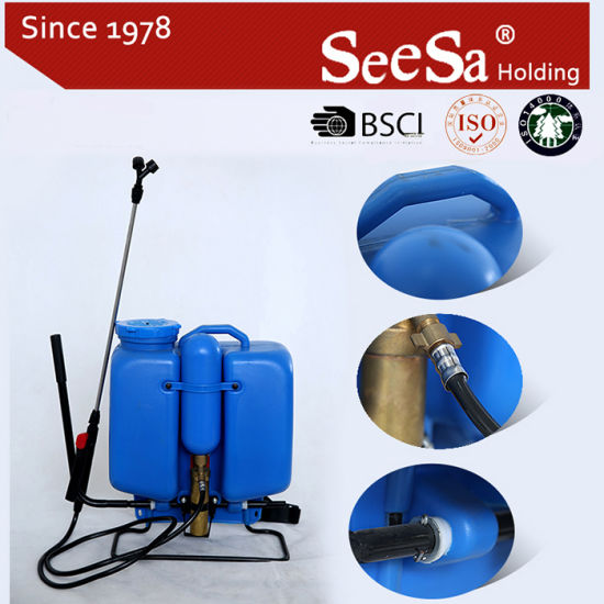 16L Knapsack/Backpack Manual Hand Agricultural Garden Sprayer (SX-LK16N) pictures & photos