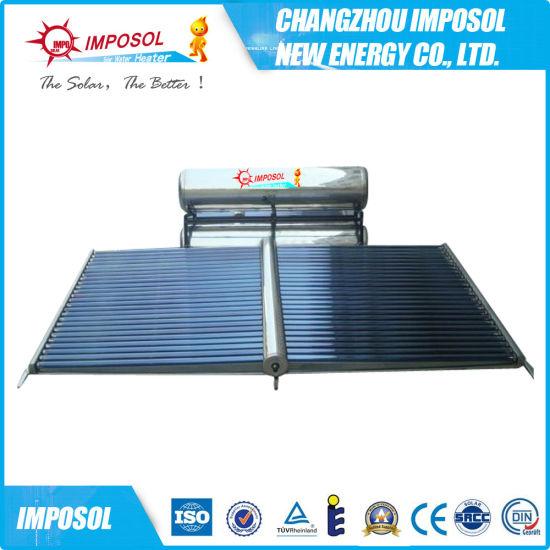 Popular Compact Flat Plate Solar Water Heater