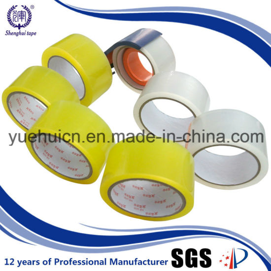 Quality Guarantee OEM Water Activated Yellow Clear Packing Tape pictures & photos