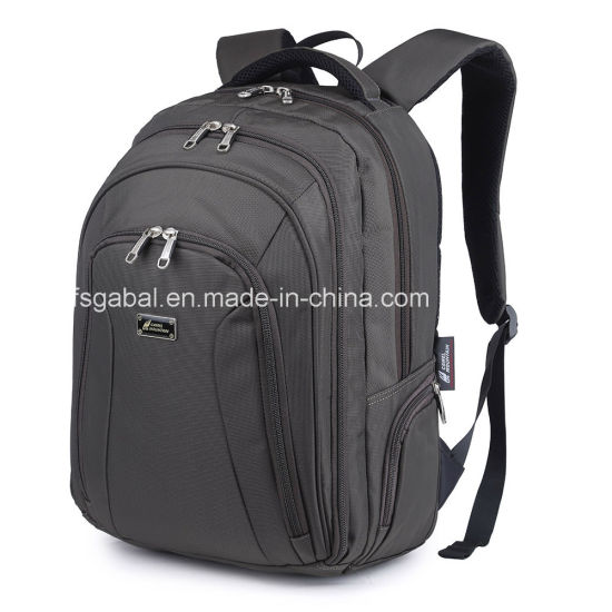 Camel Mountain Polyester Sports Travel Computer Laptop Bag Backpack