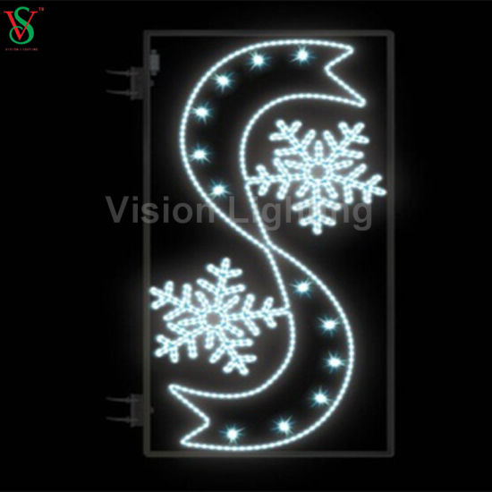 LED Christmas Ornament Outdoor Street Motif Light