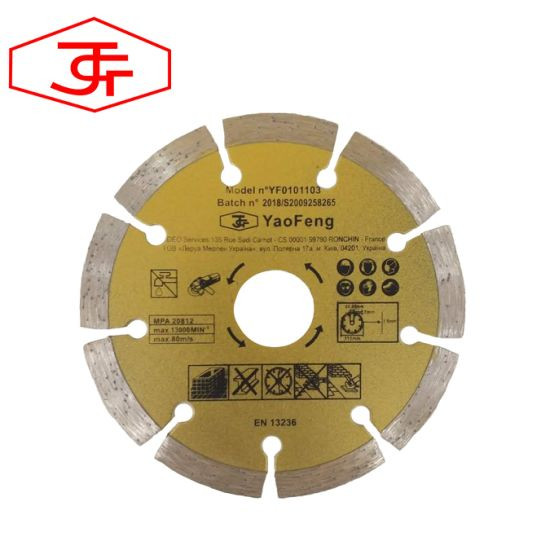 115mm Factory Direct Sale Segment Saw Blade for Cutting Concrete