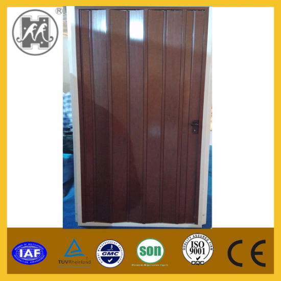 China Customize White Pvc Folding Door For Interior China Pvc