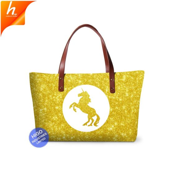 China Dropship Tote Bag Sublimation Custom Printed Handbag