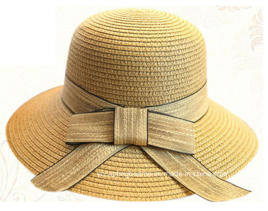 Custom Fashion High Quality Natural Color Bucket Hat pictures & photos