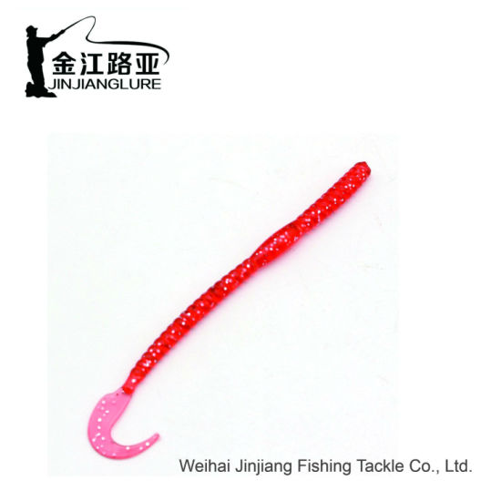F-71 Fishing Worms Soft Plastic Artificial Fishing Lures Soft Baits for  Bass Fishing