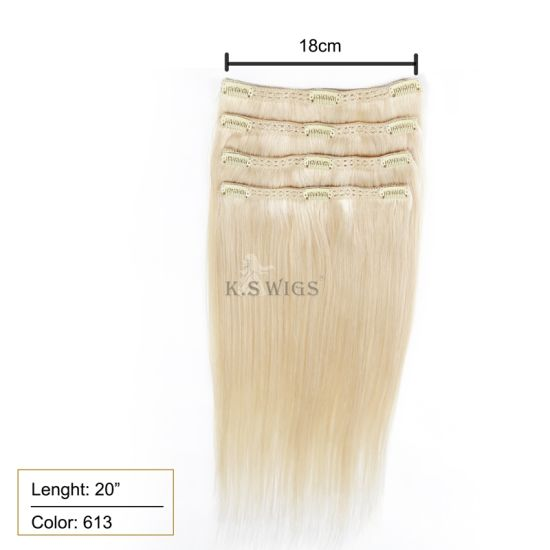 Virgin Remy Human Clip in Hair Extension pictures & photos