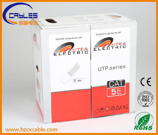 Communication Cable CAT6 UTP Pass Fluke Test pictures & photos