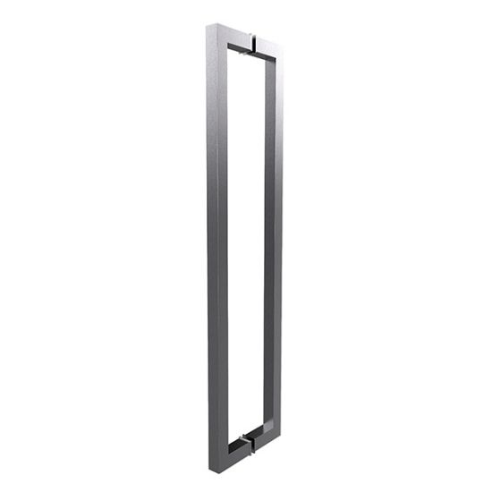 Back To Back Door Handle Stainless Steel Long Pull Door For Glass Door