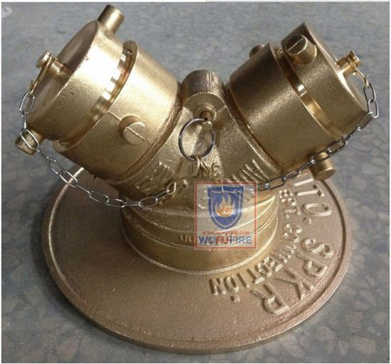 Brass Fire Hydrant Water Divider Landing Valve pictures & photos